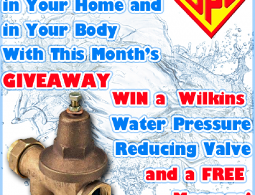 Enter this Month's Giveaway to Release a Little Pressure
