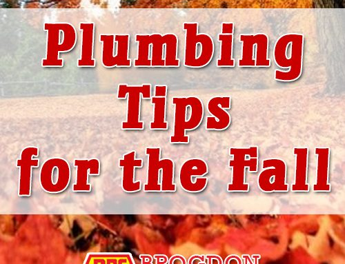 Brogdon Plumbing Fall Plumbing Tips